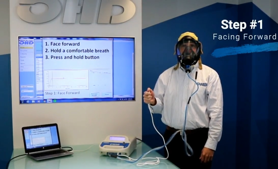 SCBA Mask Fit Test Video