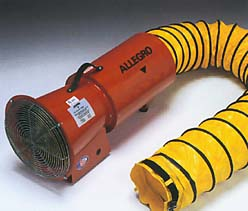 AC Axial Blower with Canister