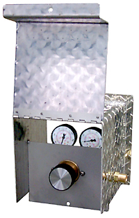 Lockable Regulator Security Box - Open